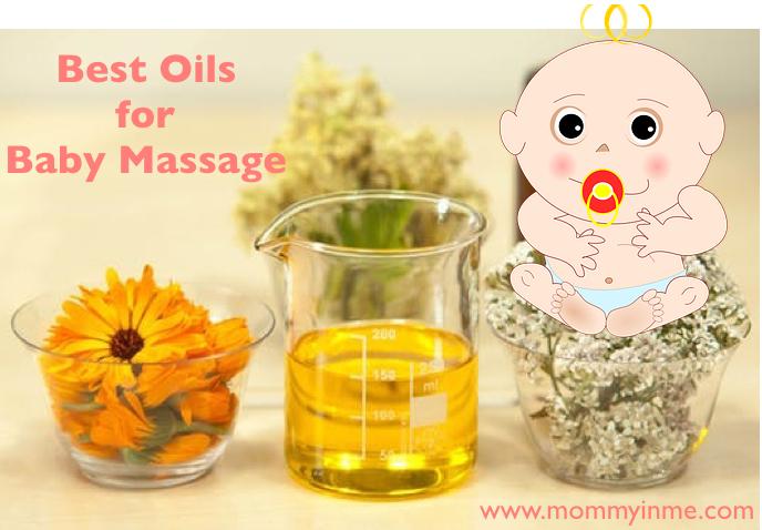 Best Oils for Baby massage