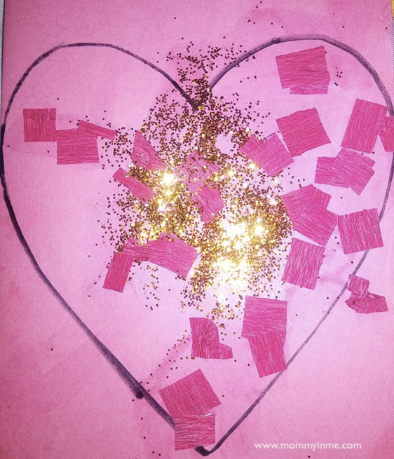 Cute valentine's day crafts for kids , toddlers and Preschoolers #crafts #toddlercrafts #valentinedaycrafts #kidscrafts
